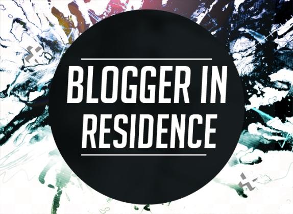 Blogger in Residence