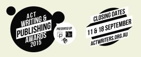 2015 ACT Writing & Publishing Awards areOpen