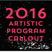 Call for 2016 ArtisticProgram