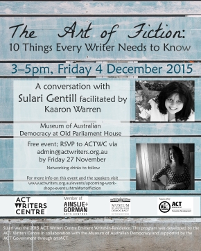 The Art of Fiction: A Conversation with Sulari Gentill