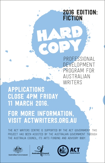 HARDCOPY 2016 - open for applications