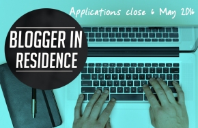 Become Our Next Blogger in Residence